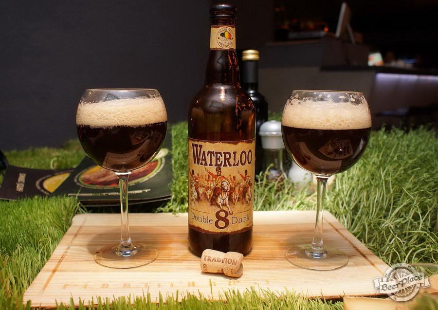 Дегустация Waterloo 8 Double Dark и Floreffe Prima Melior в FoodTourist. Waterloo 8 Double Dark