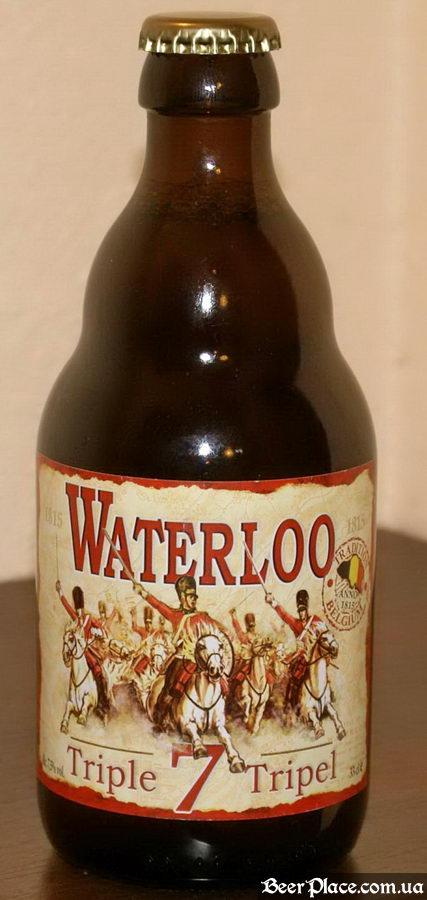Waterloo Triple beer bottle