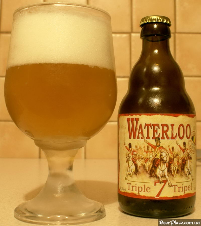 Waterloo Triple Beer