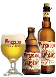 Waterloo Tripel bottle glass