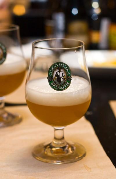 Дегустация домашнего пива Пшеничное (охмеленное)