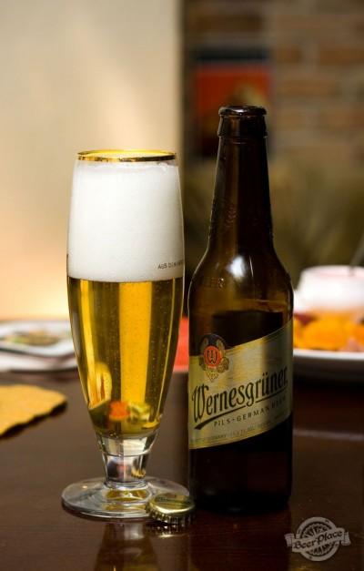 Дегустация пива Wernesgrüner Pils