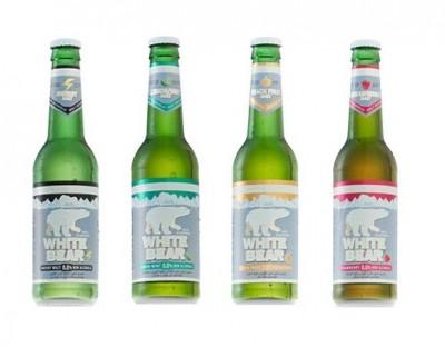 Серия солодовых напитков White Bear в Украине