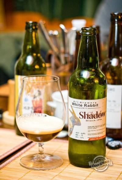 Дегустация Shadow Black IPA от White Rabbit Art Brewery
