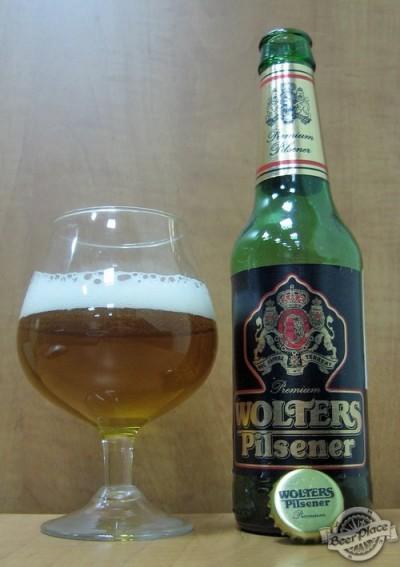 Wolters Pilsner - среднестатистический немецкий пилснер по приятной цене