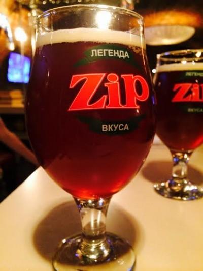 Strong Ale - новый сорт от днепропетровской мини-пивоварни Zip