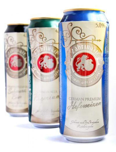 Zahringer - новое немецкое бюджетное пиво в Украине