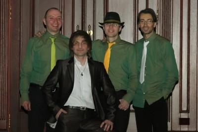 Группа Зеленый свет в Пивной №1 на Оболони