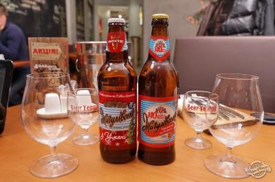Дегустация пива Жигулевское от уманского и подольского пивзаводов