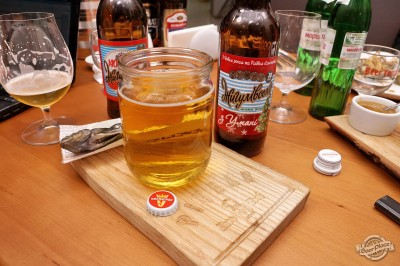 Дегустация пива Умань Жигулевское разливного