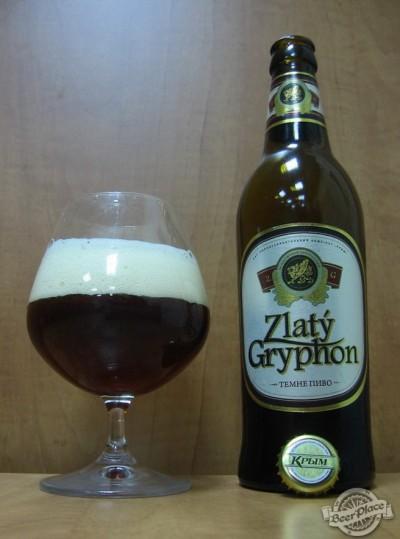 Дегустация темного пива Zlaty Gryphon от пивзавода Крым
