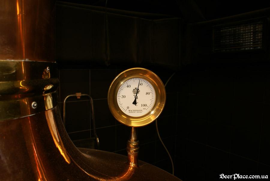 Как варят пиво в Arena BeerHouse. Датчик