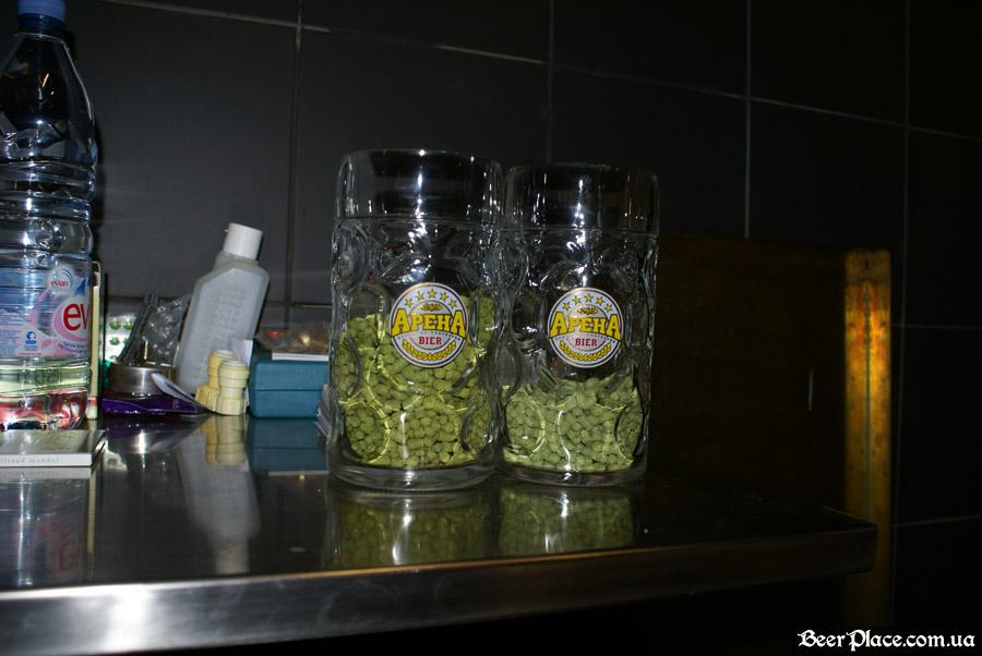 Как варят пиво в Arena BeerHouse. Хмель