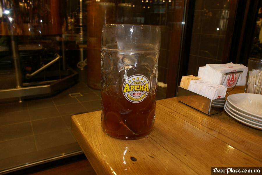 Как варят пиво в Arena BeerHouse. А не отведать ли нам сусла