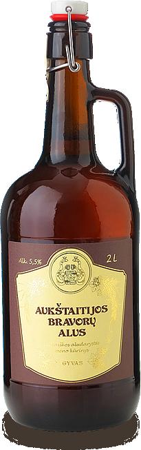 Aukštaitijos bravorų alus - новое литовское пиво в Украине