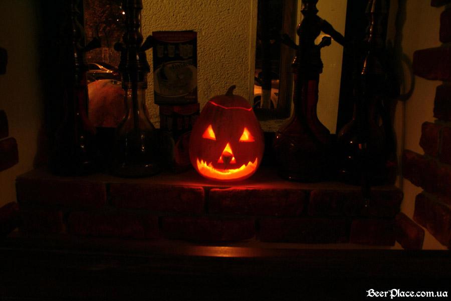 Хеллоуин 2010 в АУТ ПАБе. Фото. Тыквы