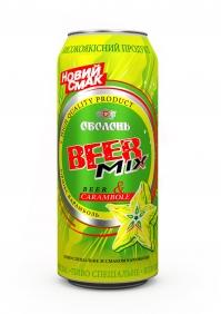 Карамболь - новый BeerMix от Оболони