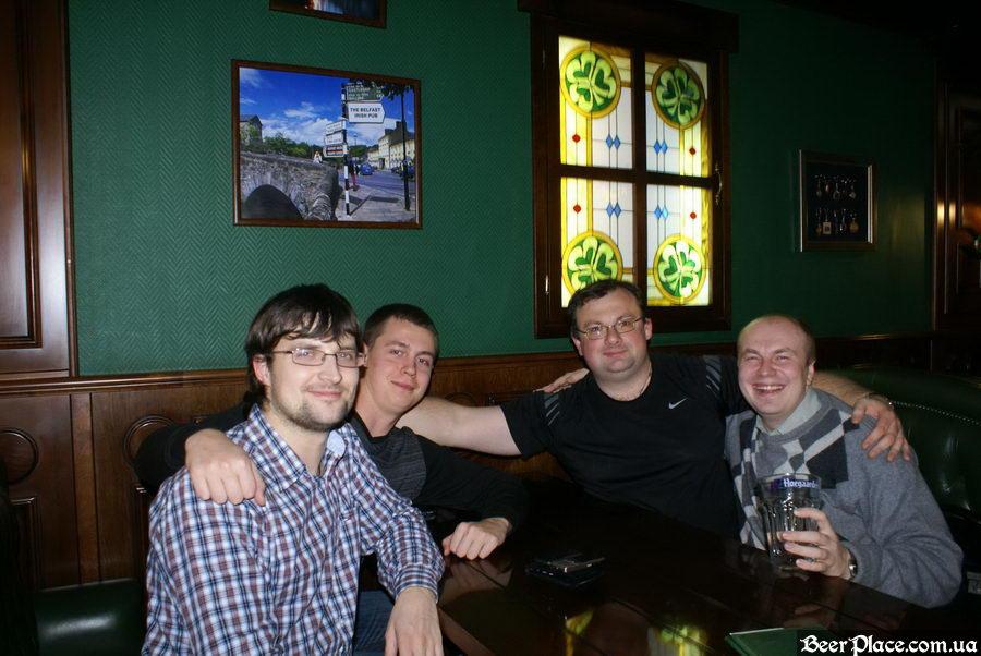 Вручение первых призов от BeerPlace.com.ua
