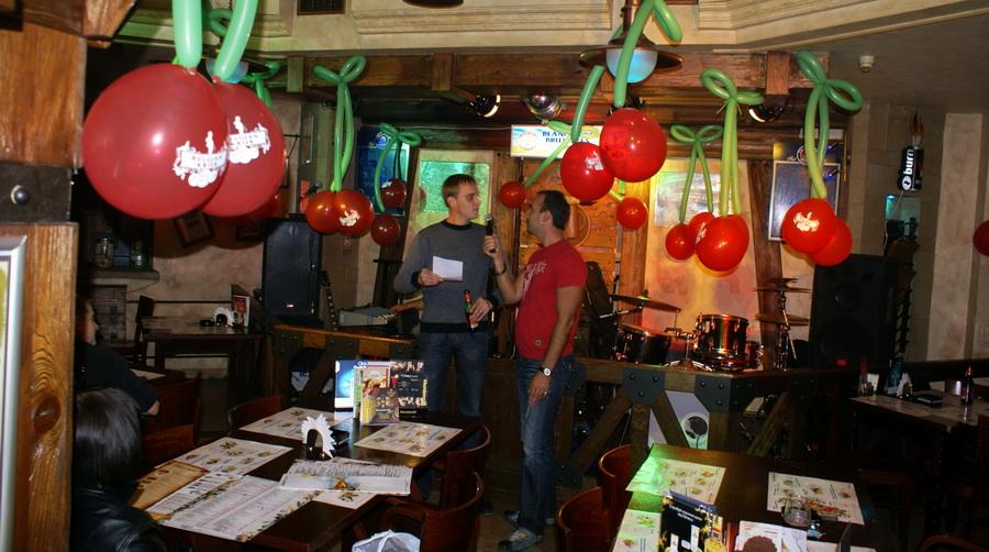 Презентация Belgin Kriek в пабе У кружки. Чтение оды Belgian Kriek