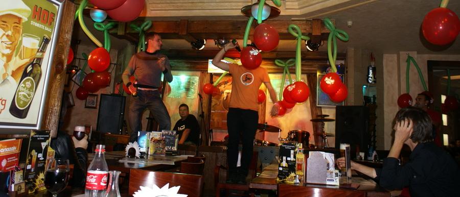 Презентация Belgin Kriek в пабе У кружки. Танцы на стульях