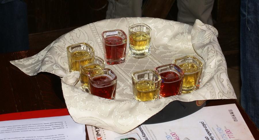 Презентация Belgin Kriek в пабе У кружки. Напитки для первого конкурса