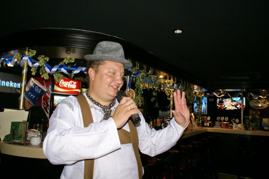 Октоберфест в Киеве. Паб-ресторан Bier Platz. Ведущий Октоберфеста