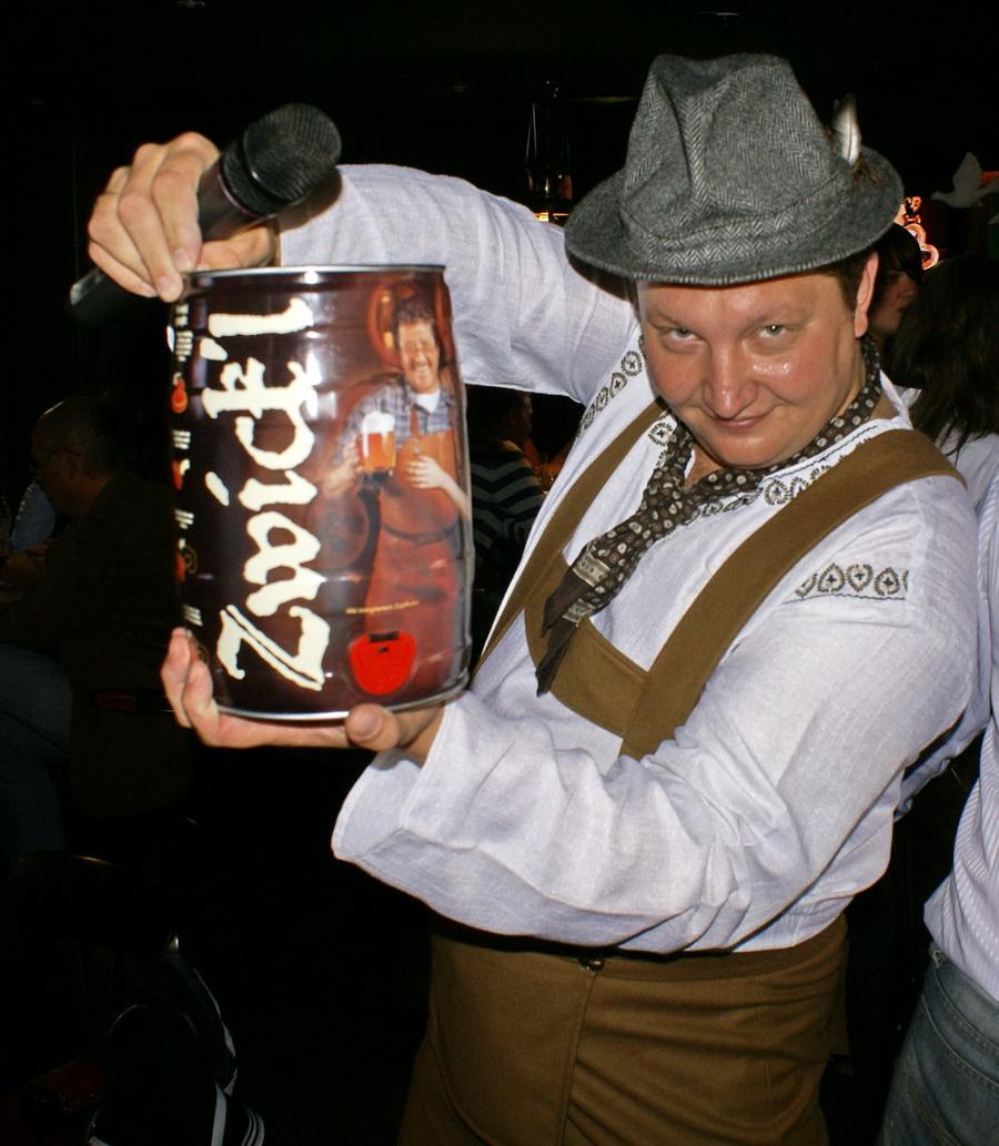 Октоберфест в Киеве. Паб-ресторан Bier Platz. Аукцион