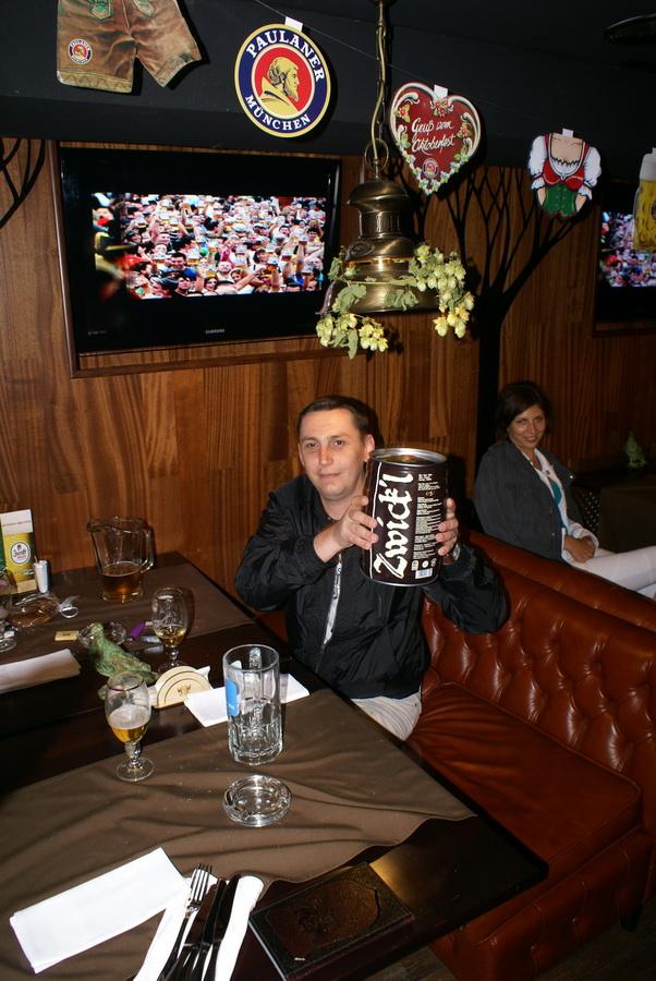 Октоберфест в Киеве. Паб-ресторан Bier Platz. Подарок другу