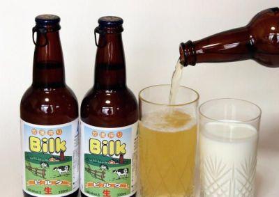 Молочное пиво Bilk