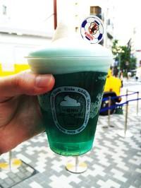 Samurai Blue - синее пиво сборной Японии по футболу