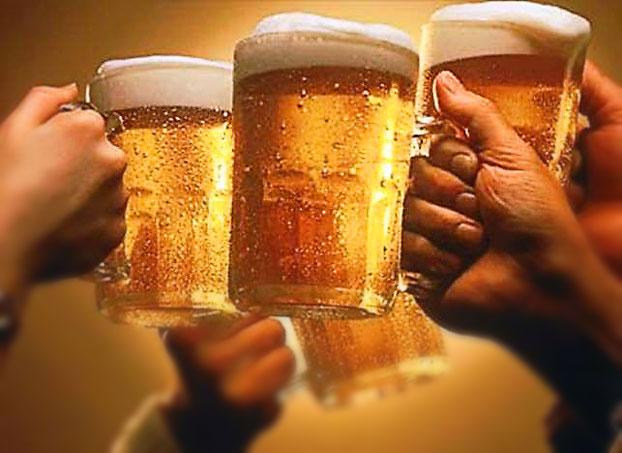 Акция на пиво и доставка от паба Гусь