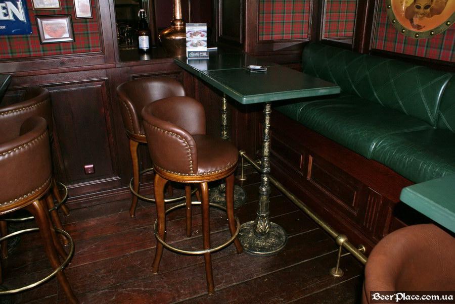 Паб виски-клуб Корвин | Corvin. Фото. Зеленые диваны