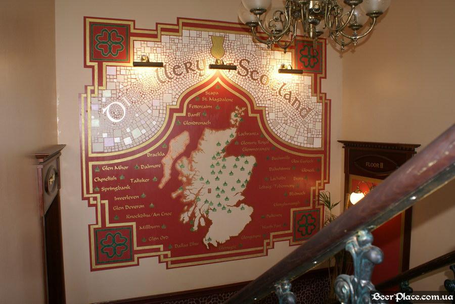 Паб виски-клуб Корвин | Corvin. Фото. Шотландские производители виски