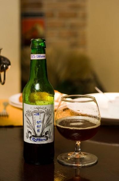 Дегустация домашнего пива Dubbel от Ets-Ukraine