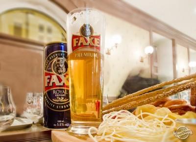 Дегустация пива FAXE Royal Export