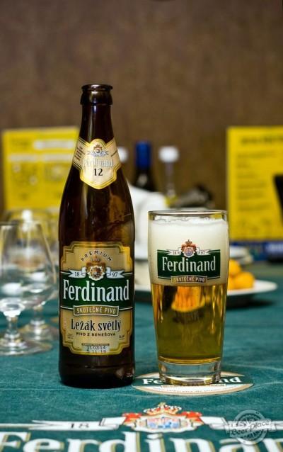 Дегустация пива Ferdinand Lezak svetly (11 и 12%)