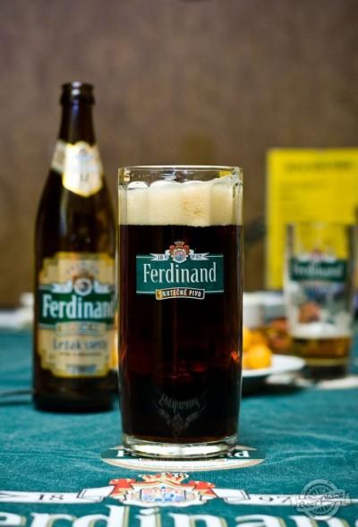 Дегустация пива Ferdinand Lezak Tmavy (Dark lager)