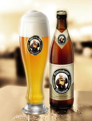 Пиво franziskaner weissebeer в подарок от LUKBeer