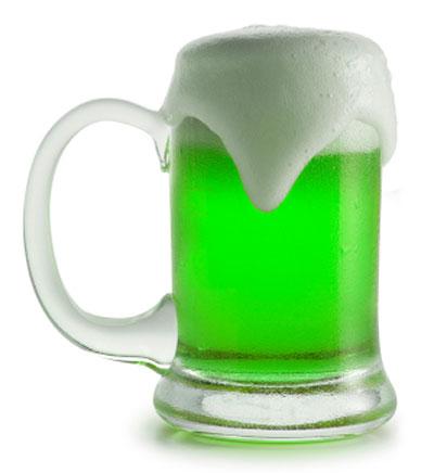 Самое настоящее, зеленое пиво