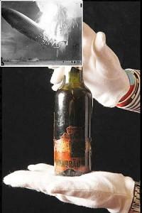 Бутылка пива с Гинденбурга будет продана за 6 тысяч фунтов