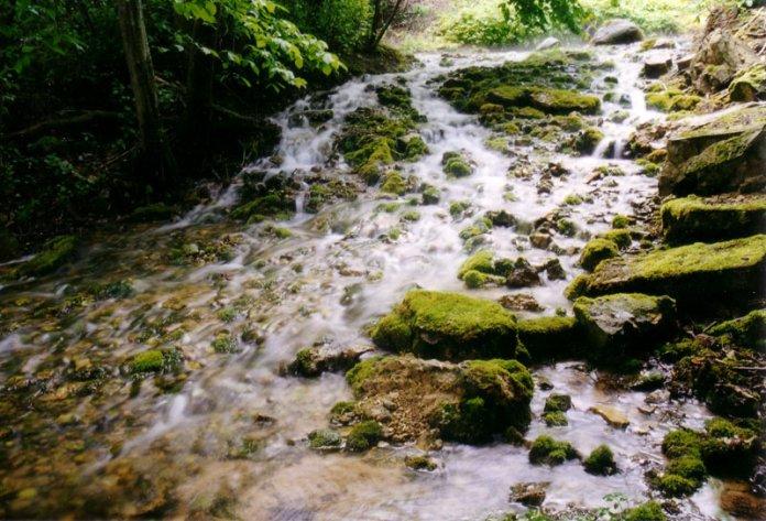 Источник с мягкой и чистой водой