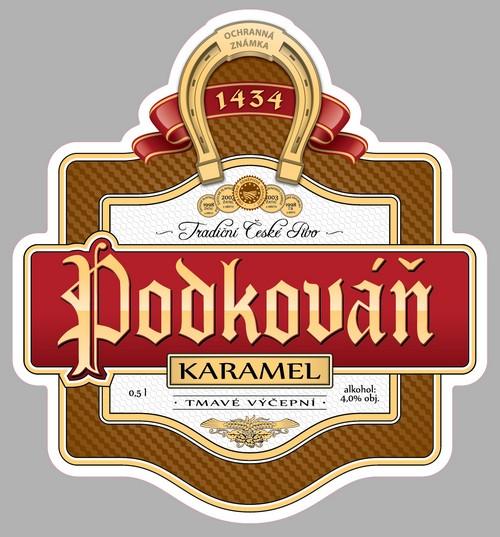 В Украине появилось чешское пиво Podkovan Karamel