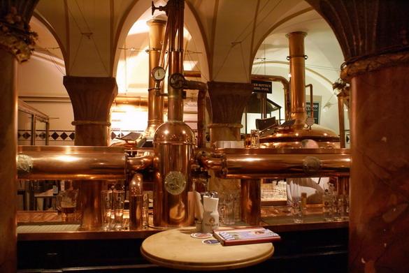 Мини-пивоварня Пауланер