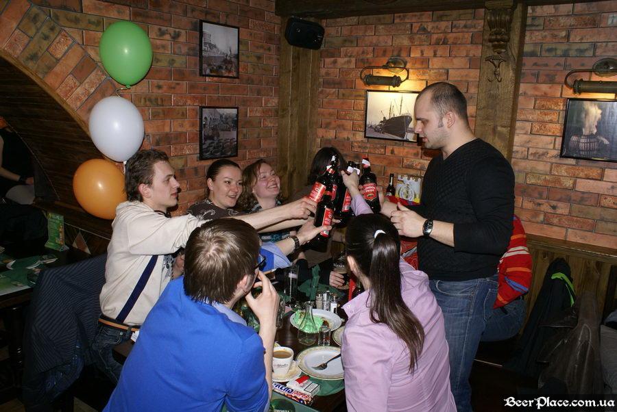 День Рождения паба O'Connors | O'Коннорс. Пьём Fullers London Pride