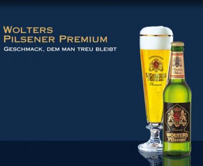 Акция на Wolters Pilsner Premium в Мега Маркетах