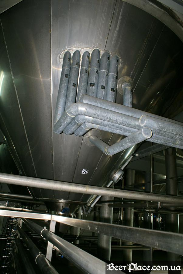 Как варят пиво на заводе Полтавпиво. Фото. Царство ЦКТ