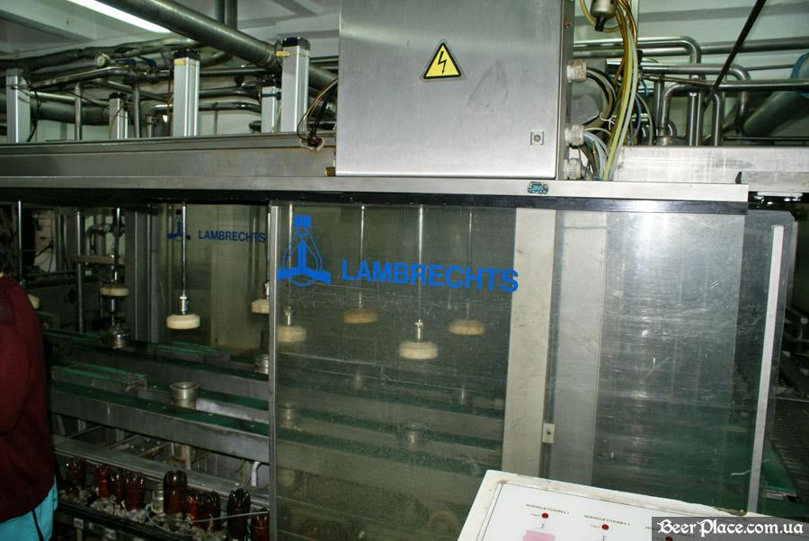 Как варят пиво на заводе Полтавпиво. Фото. Цех по разливу пива в кеги