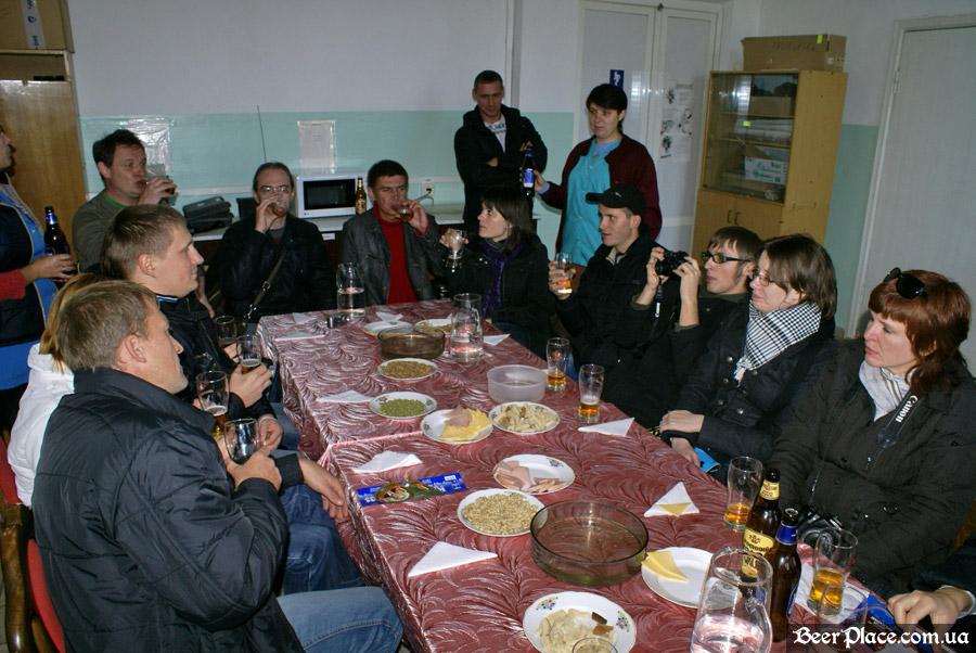 Как варят пиво на заводе Полтавпиво. Фото. Дегустация продукции от Полтавпиво