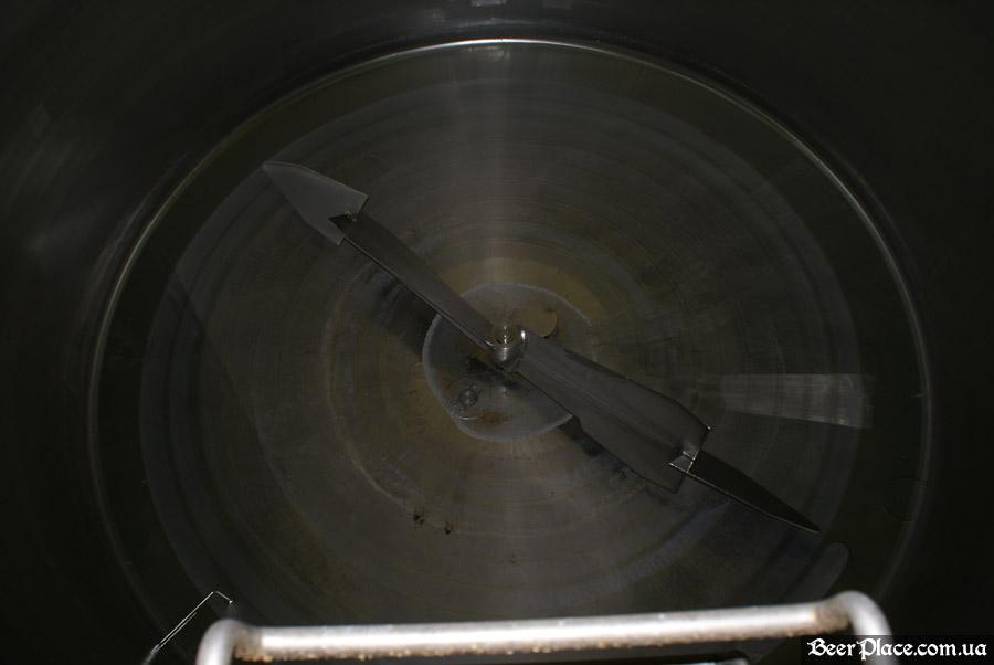 Как варят пиво на заводе Полтавпиво. Фото. Оборудование Huppmann
