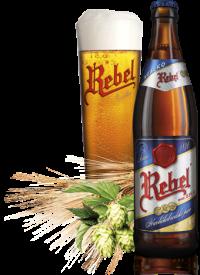 Чешское пиво Rebel в Украине